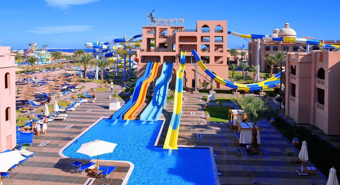 Albatros Aqua park hotel in Hurghada