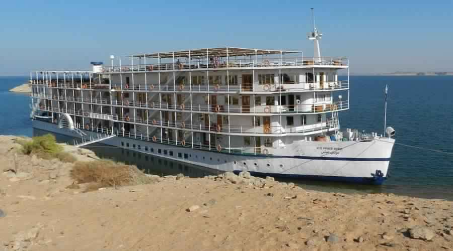 Floating hotel Prince Abbas