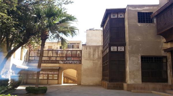 Внутренний двор дома Бейт аль-Сухайми