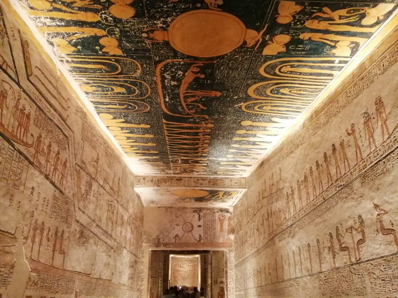 Ramesses VI main tomb chamber