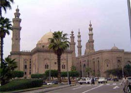 Sultan Hassan mosque at Cairo