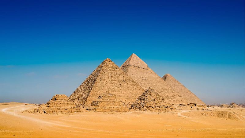 Pyramids excursions