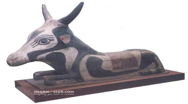 Mother of the sacred Apis bull.