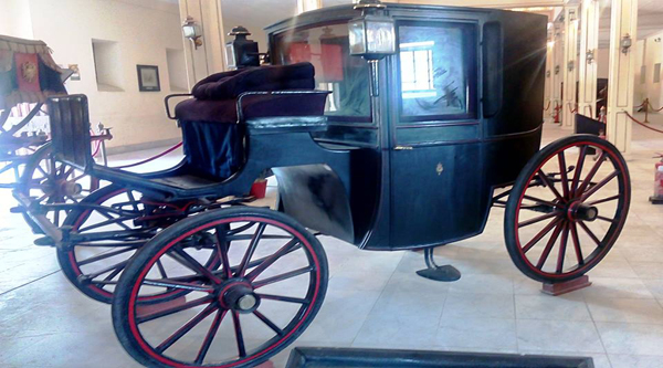Mohammed Ali Dynasty carriage.