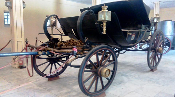 Display of Royal Carriages.