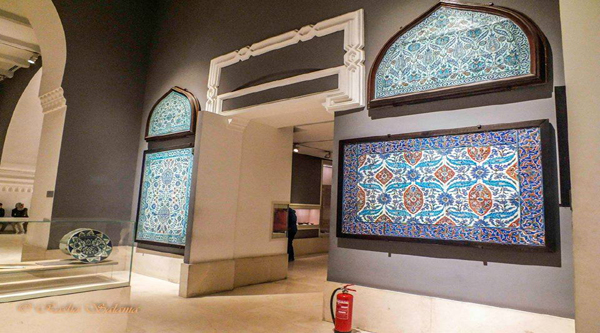 Islamic beautiful mosaics.