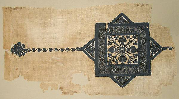 Coptic fragment of textile.