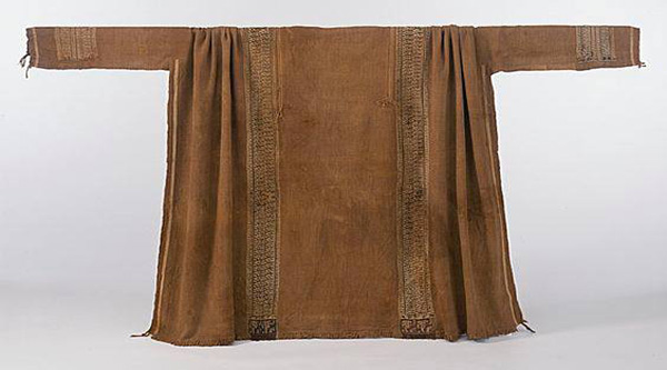 Coptic wool tunic.