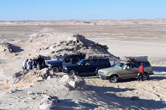 Egypt White desert safari tour
