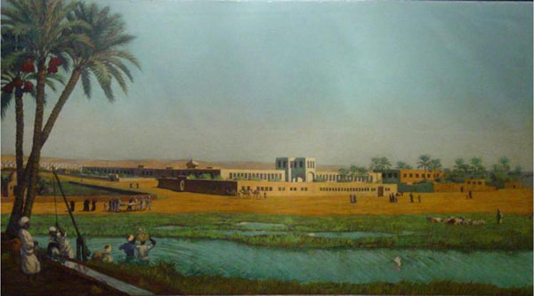Qasr al-Ayny Medical school in 1833