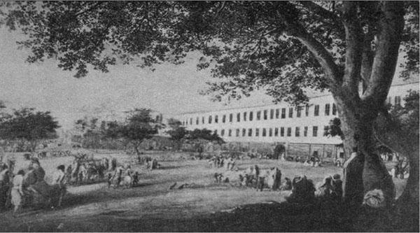 Royal Hospital in Azbakiya