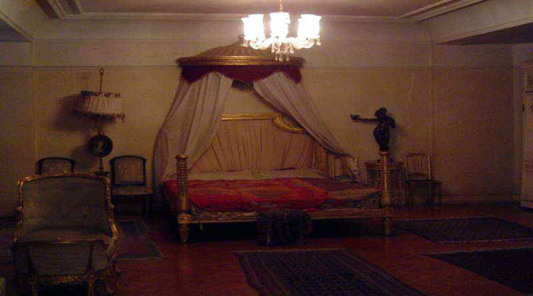 Bedroom in the palace