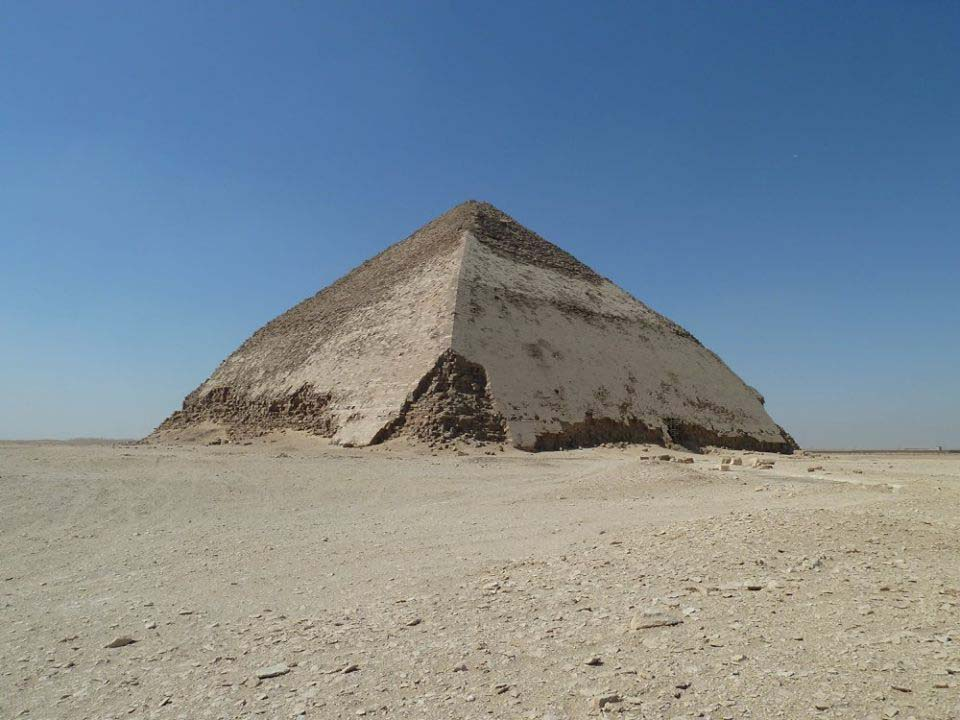 Piramide inclinata a Dahshur