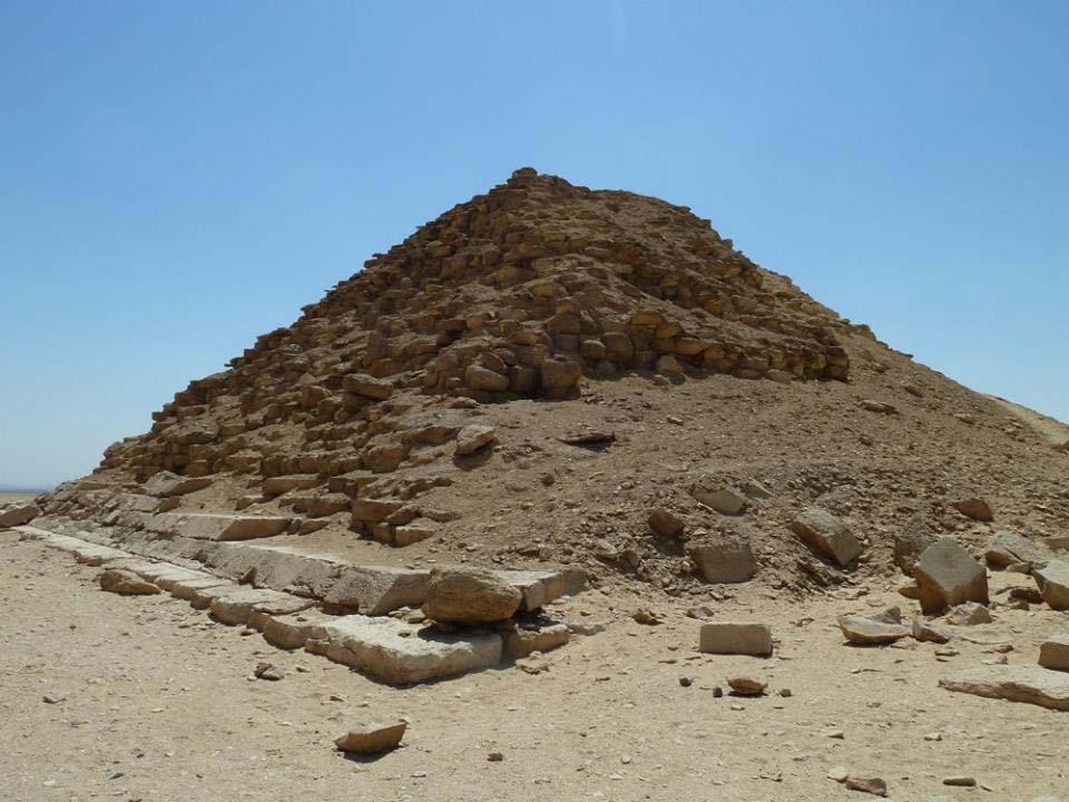 Subsidiary Dahshur pyramid