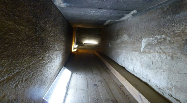 Passage inside the Red Pyramid
