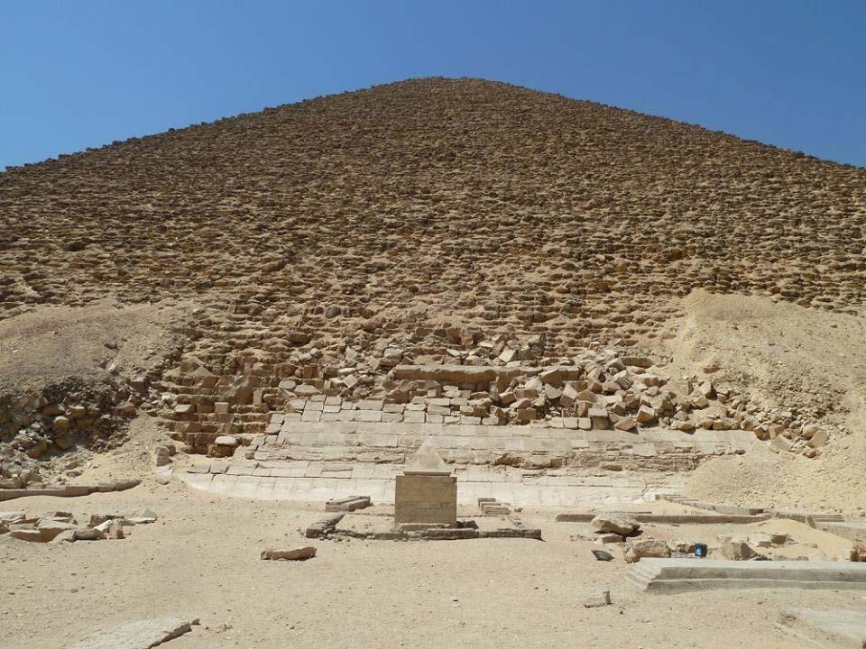 Dahshur pyramid pyramidalion