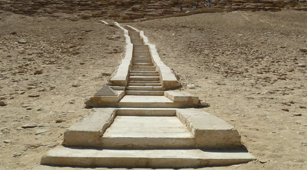 Causeway to the Red Pyramid