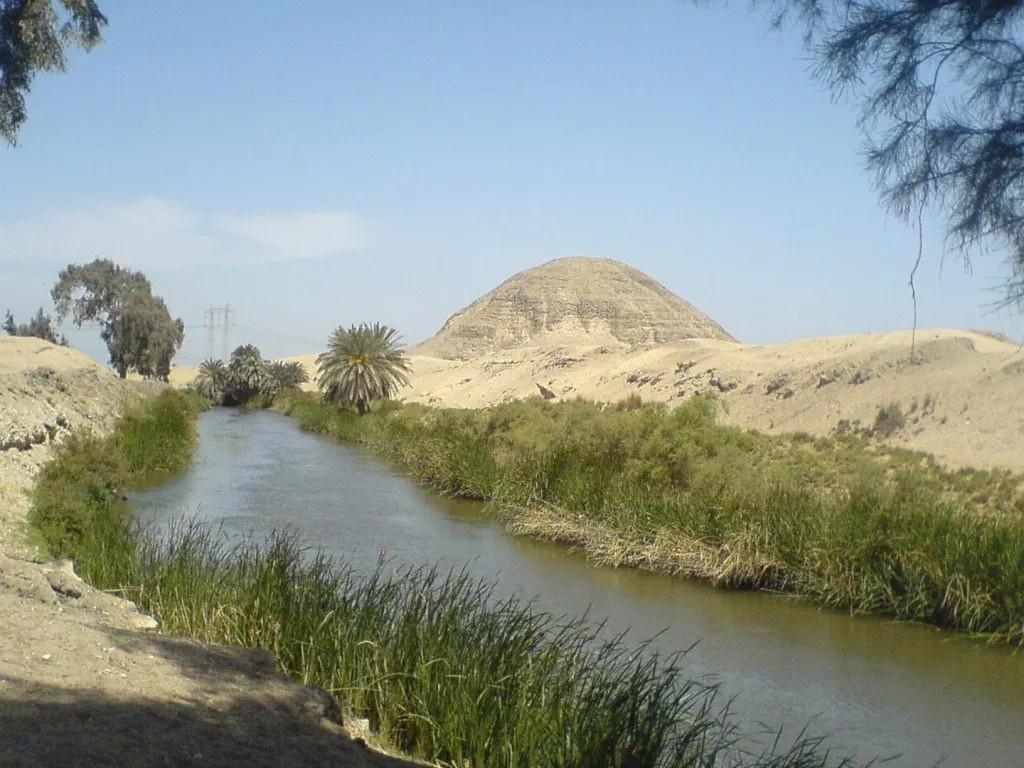 Пирамида Аменемхета III. Хавара