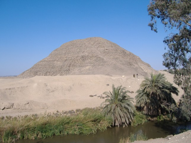 Pyramid at Hawara