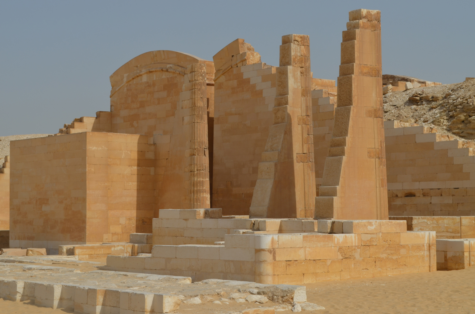 Part of Djoser's Valley temple