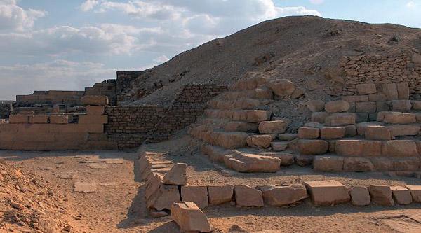 Pepi I pyramid in Saqqara