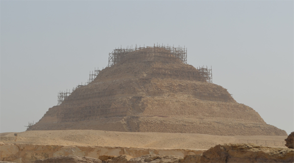 Overview of Step Pyramid in 2016.