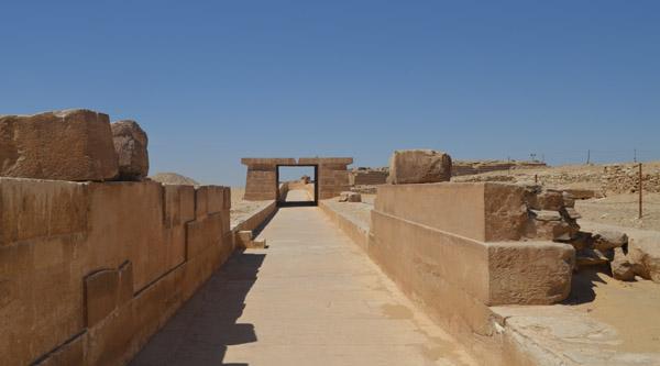 Процессионная дорога пирамиды Унаса