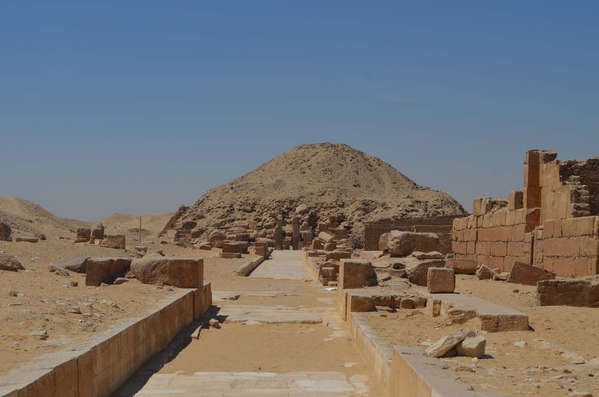 Pyramid of Unas at Saqqara