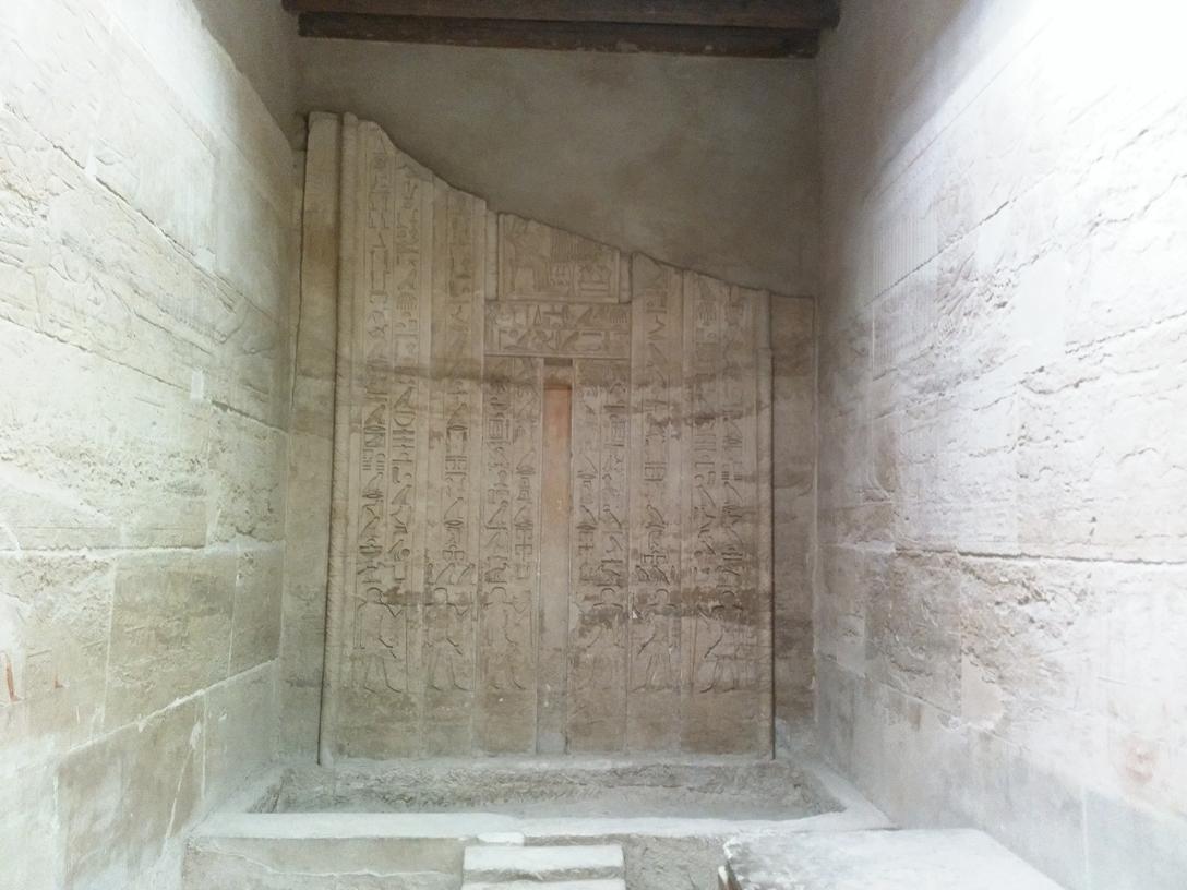 Step pyramid of king Djoser