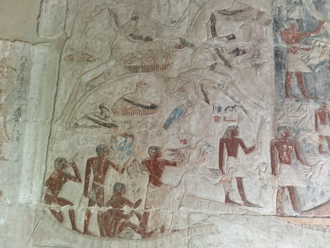 Tomb of Kajemni at Saqqara Egypt