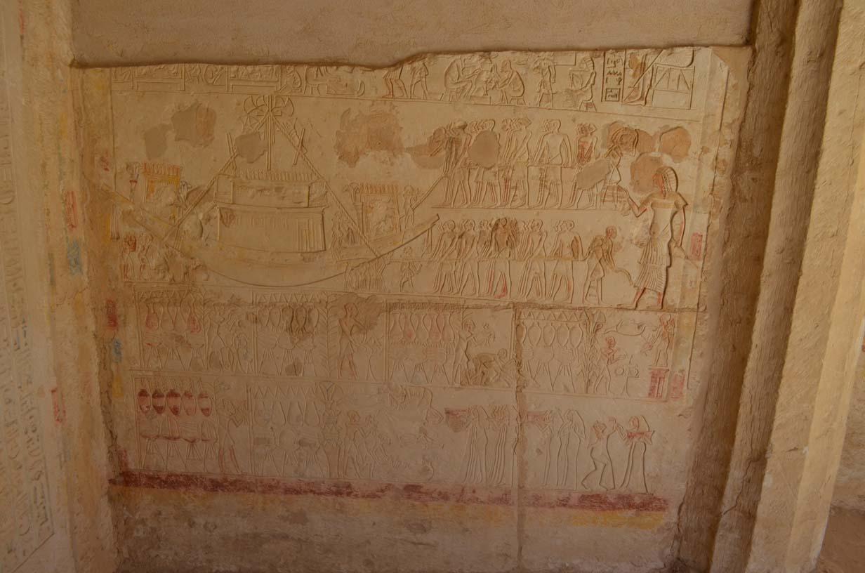 Tia's tomb courtyard.