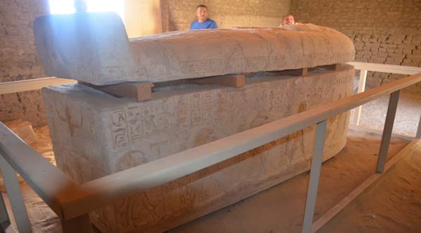 Sarcophagus of Raia.