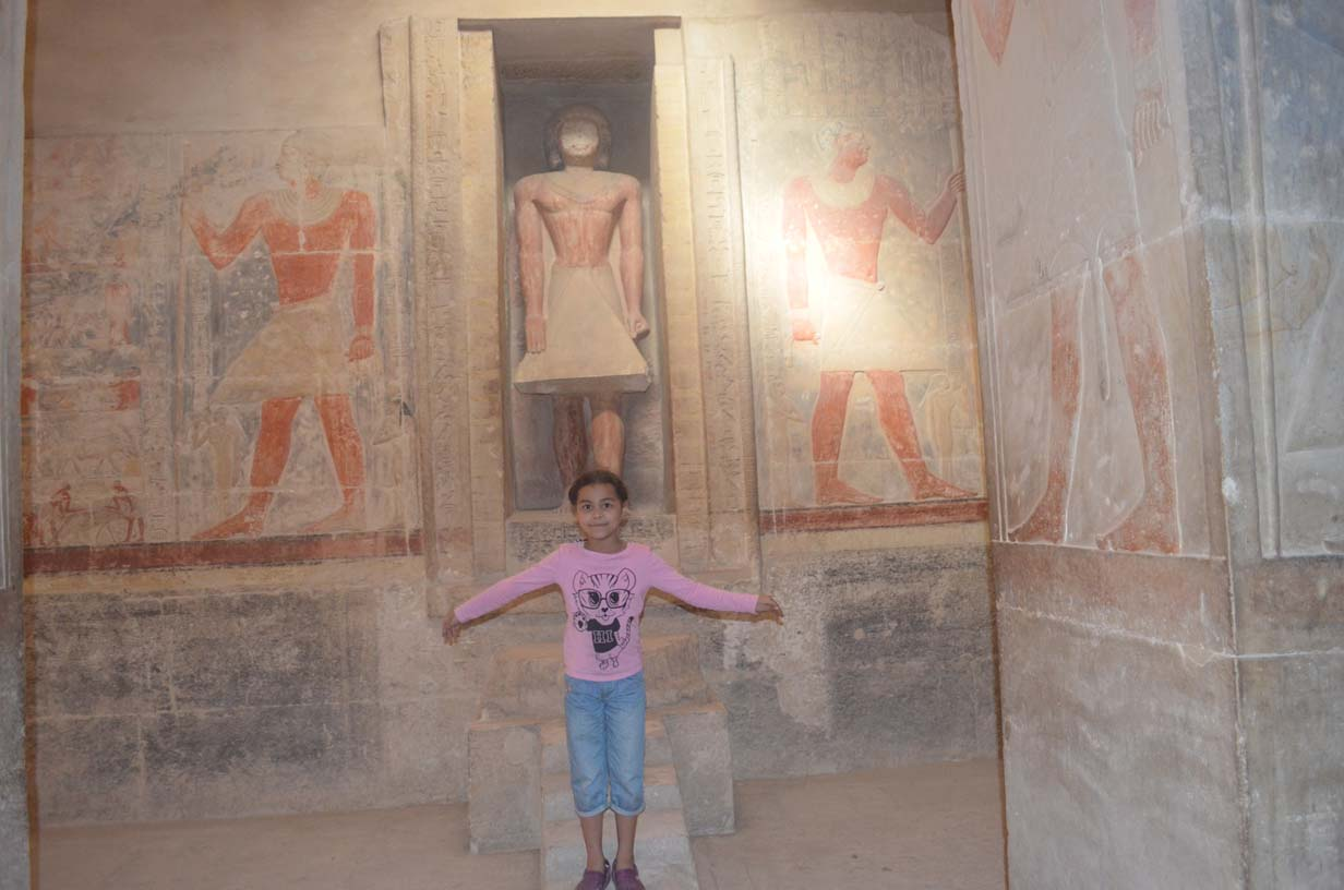 Внутри гробницы Мерируки